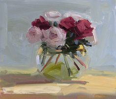 roses print by Amy Brnger | mignonshop.com