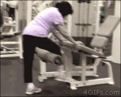 22 Personas que no deberían tener permitido ir al gimnasio