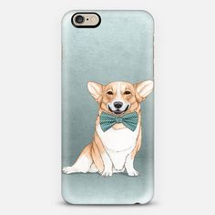 "Corgi"" Iphone case; design by Barruf. Get 10$ OFF with the code: S29WXC"