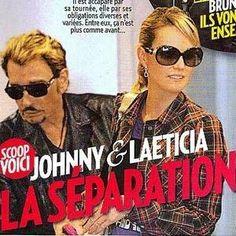 Johnny Hallyday et Laeticia : ils se sépareraient!