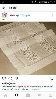 Alıntı Silk Ribbon Embroidery, Embroidery Art, Embroidery Patterns, Crochet Patterns, Filet Crochet, Crochet Lace, Crochet Stitches, Cross Stitch Cushion, Point Lace
