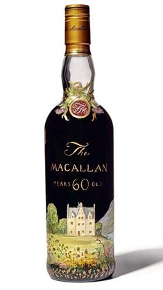 MACALLAN 60 YEARS OLD Smoked Whiskey, Cigars And Whiskey, Whiskey Drinks, Scotch Whiskey, Whiskey Bottle, Fun Drinks, Alcoholic Drinks, Macallan Whisky, Oldest Whiskey