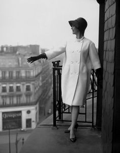 Photo by Georges Dambier, ELLE, 1958