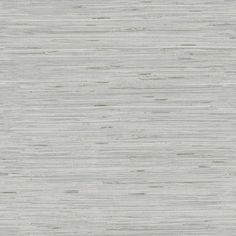 This realistic faux grasscloth has the texture and soft blend of shades one often sees in the authentic article. Made from vinyl, however, this wallcovering is washable and durable so it can grace high traffic areas where organic grasscloth might be impractical.