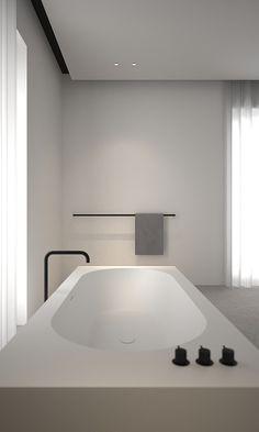 Bathroom - house LAN in Deerlijk Belgium by AD Office
