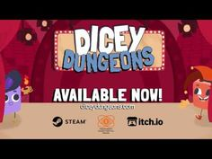 Dicey Dungeons arriving Summer 2020 hopefully - Nintendo Switch News - NintendoReporters Nintendo Switch News, Video Game Trailer, Latest Games, Level Up, Fun To Be One, Soundtrack, Indie, Product Launch, Make It Yourself