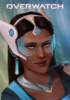 Overwatch: Symmetra   200th Deviation! by Naariel