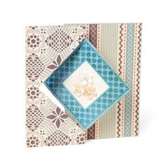 Sizzix Movers & Shapers L Die - Card, Diamond Flip-its $29.99