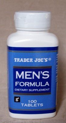 Trader Joe's Men's Formula (Forrest) 2014 Xmas,  2015 Xmas