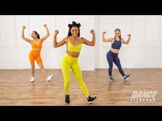 Get ready to sweat and sculpt with this high-intensity cardio dance and toning workout. For an extra challenge, grab a pair of light free weights! Find more workouts from Dance FitSugar host Deja Riley on her Glow shop. Toning Workouts, Fit Board Workouts, Fitness Exercises, Fitness Motivation, Fitness Routines, Workout Routines, Fitness Tips, Fitness Model Diet, Fitness Nutrition