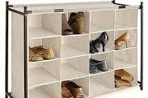 16 section shoe cubby - The Container Store