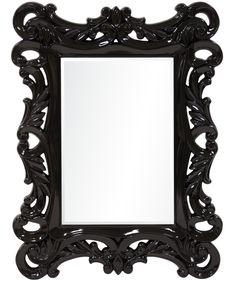 Mirror, Retro, Gd, Furniture, Color, Design, Home Decor, Black, Globe