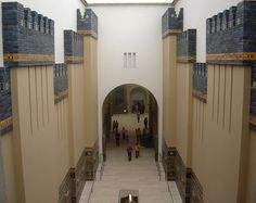 The Walls of Babylon, Pergamon Museum, Berlin, Germany