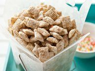 Blogger Angie McGowan of  Eclectic Recipes shares a fun, sweet snack idea using Rice Chex® cereal.  Learn to make this recipe with our how-to  article.
