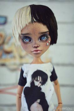 Monster high OOAK repaint nackte Puppe Cleo De Nile