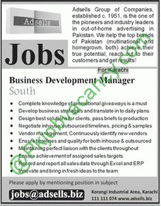 Males And Females For Marketing  Jobs In Pakistan