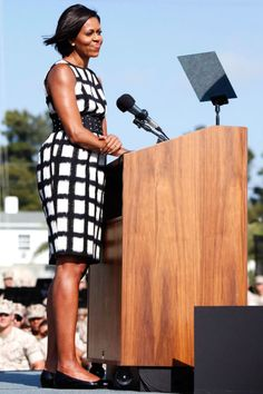 Michelle Obama's 13 Best Outfits Ever | http://www.hercampus.com/style/michelle-obama-s-13-best-outfits-ever