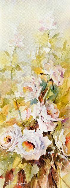 Acuarelă flori
