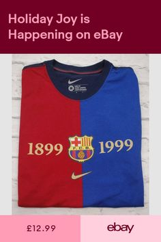 92d8b72dbb0d0 T-Shirts Clothes Shoes & Accessories #ebay Barcelona T Shirt, Barcelona  Football