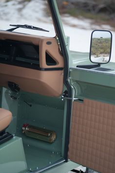 Painstakingly restoring each Land Rover to create the perfect build full of character and personality Landrover Defender, Defender 90, Land Rover Serie 3, Land Rover Defender Interior, Autos Toyota, Bmw Autos, Toyota Hilux, Land Rovers, Accessoires 4x4