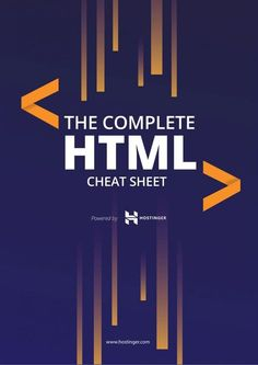 This HTML cheat sheet has been grouped nicely with tags belonging to different HTML functionalities. There is just so much of HTML tags to remember. Free Programming Books, Learn Programming, Programming Languages, Html Cheat Sheet, Cheat Sheets, Learn Computer Coding, Learn Coding, Learn Html And Css, Design Web