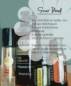 Scar Blend. www.greenlivingladies.com Order below wholesale @ www.mydoterra.com/303320