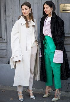 8 of the dreamiest duo looks from fashion month