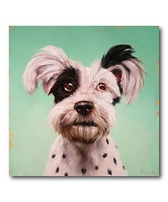 Look at this #zulilyfind! Follow Your Nose 8 Wrapped Canvas #zulilyfinds