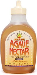 Many brands of agave nectar sold in the supermarket, claiming to be organic, are nothing more than refined fructose.   What is important to determine when purchasing agave nectar is whether the sweetener comes from a trusted source. A good choice - Madhava Agave Nectar.