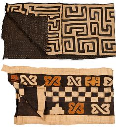 Kuba Cloth Runners
