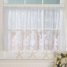 Seashell Lace Curtains Sturbridge Yankee Workshop Lace