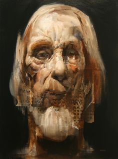 Viejo Old Man a painting by Daniel Ochoa