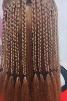 Very Beautiful Braided Hairstyles – Tutorial Per Capelli Easy Hairstyles For Long Hair, Braided Hairstyles Tutorials, Trendy Hairstyles, Girl Hairstyles, Hairstyles Videos, Fast Hairstyles, Hair Tutorials, Medium Hair Braids, Medium Hair Styles