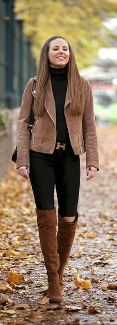 Pretty fall outfits with blazer inspiration (62)