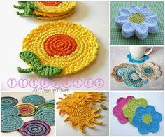 La Magia del Crochet: POSAVASOS A CROCHET