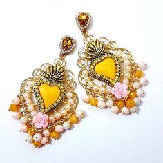 Creo bijoux e accessori moda in pezzi unici Fashion Earrings, Piercings, Drop Earrings, Stylish, Fashion Accessories, Handmade, Beautiful, Jewelry, Summer