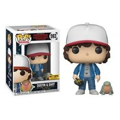 Funko Dustin & Dart, Stranger Things, Netflix, Series, Hot Topix Exclusive, Funkomania