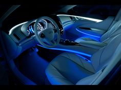 2012 Infiniti LE Concept.    STELLAR INTERIOR!!! I WISH I CAN SO PIMPTHE INSIDE OF MY SOON TO BE CAR TO LOOK LIKE THIS!