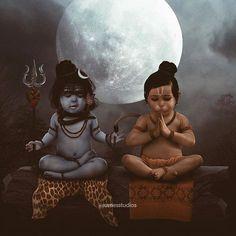 "Rames Harikrishnasamy - ""Those who meditate together, build a better world together 🌍❤️"" . Have you ever imagined how . Bal Hanuman, Hanuman Pics, Hanuman Images, Krishna Images, Hanuman Ji Wallpapers, Lord Murugan Wallpapers, Baby Ganesha, Baby Krishna, Shiva Linga"