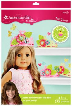 American Girl Crafts™ Paper Tiara Party Activity Kit