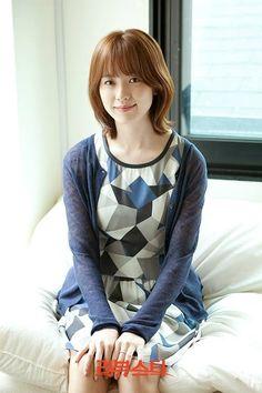 Han hyo joo short hair style