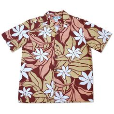 Imagine enjoying a beautiful Hawaiian sunset, while a gentle wind flows from land towards the sea. This Aloha Shirt unravels that serenity & beauty of Hawaii. This island shirt is also available in navy & blue. Hawaiian Sunset, Hawaiian Print, Tribal Shirt, Island Shirts, Kimono Shirt, Tropical Colors, Aloha Shirt, Sports Shirts, Breeze