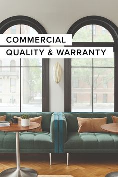 We've taken the most durable designs and materials from our residential line and backed them with a five- or 10-year warranty when you purchase through Business Interiors.