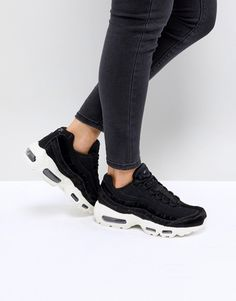 M Y  S T Y L E // Nike air max 95 LX women in black