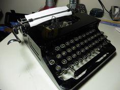 Antique /  Vintage L.C. Smith & Corona Portable Typewriter  #SmithCorona