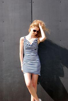 Navy s vodou / Zboží prodejce wasabinka Bodycon Dress, Dresses, Fashion, Gowns, Moda, Body Con, Fashion Styles, Dress, Vestidos