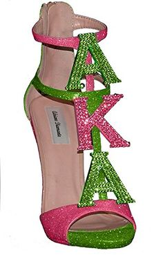 Swarovski Crystal Alpha Kappa Alpha 1908 Sorority Inc Pink Green high Heels Memorabilia Pin Barbie Pearls Mirror Gear License Plate Plaque Shoes Hat Dress Shirt Custom Adriano Diamante http://www.amazon.com/dp/B00GZXPH5E/ref=cm_sw_r_pi_dp_21lgub0XSWQQ2