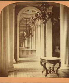 Marble Room, in the U.S. Capitol. 1865?-1875?