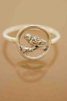 A little birdie told me ring