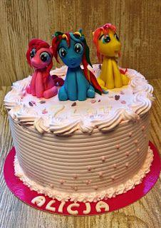 Torty ciasta i ciasteczka Joli: My Little Pony Alicji